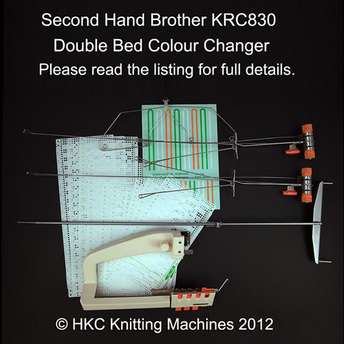 Brother knitting machines second hand krc830 double bed for Second hand bunk beds